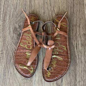 Sam Edelman Gigi Sandals in Saddle Leather